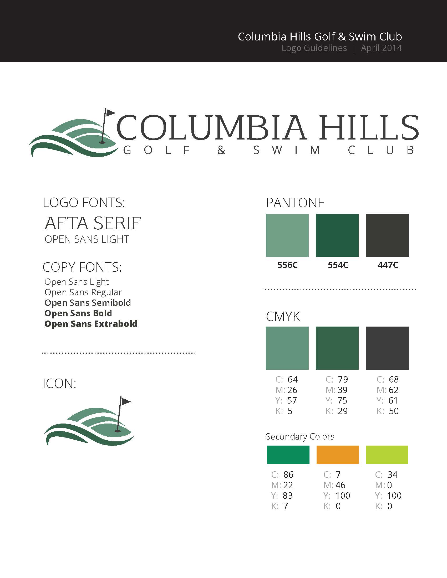 Columbia Hills Style Guide