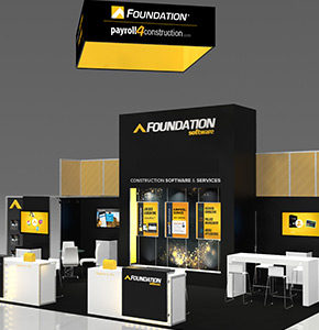 tradeshow booth design and layout service