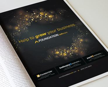 full page ad design design company