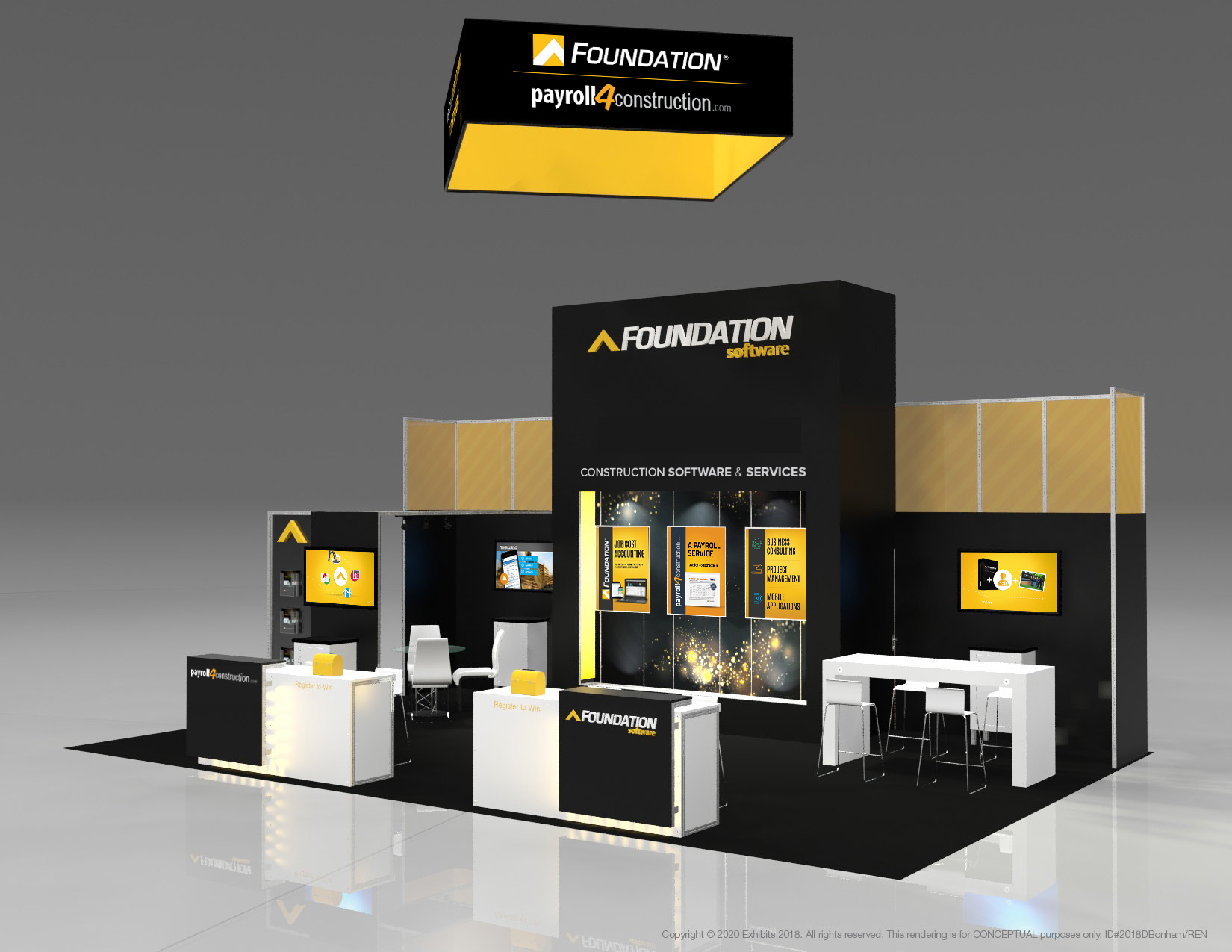 Foundation's Tradeshow Booth 2019