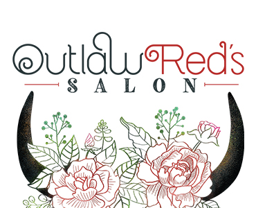Outlaw Red's Salon Logo
